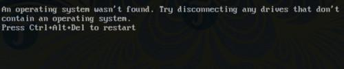 sua loi operating system not found