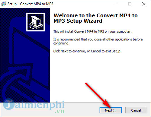 cach cai dat convert mp4 to mp3