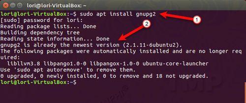 ma hoa file va thu muc tren ubuntu