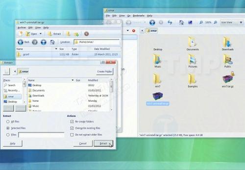 Cách biến Ubuntu Linux thành Windows 7