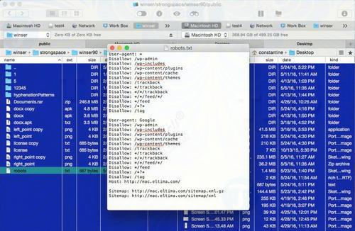 cach chinh sua file htaccess robots txt va cac file tren mac