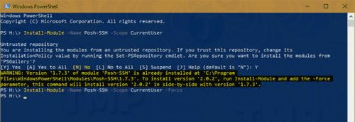 quan ly ftp sftp ssh bang powershell tren windows 10