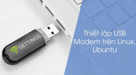 cach thiet lap usb modem tren linux ubuntu