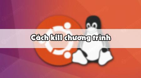 cach kill cac chuong trinh tren linux ubuntu bang terminal