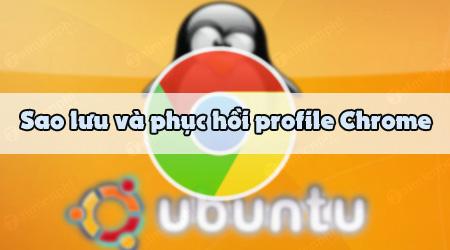cach sao luu va phuc hoi profile chrome tren linux ubuntu