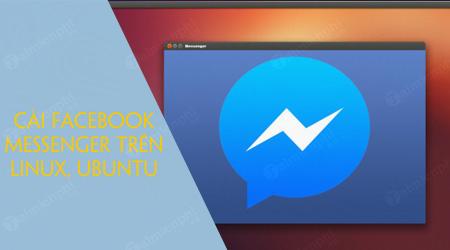 Cách cài Facebook Messenger trên Linux, Ubuntu với Pidgin IM