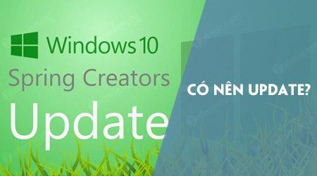co nen update windows 10 spring creators update