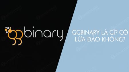 ggbinary la gi co lua dao khong