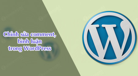 cach chinh sua comment binh luan trong wordpress