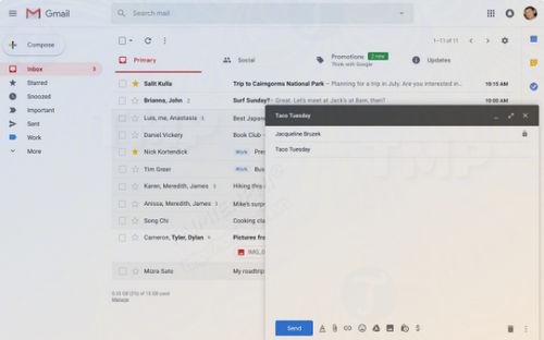 gmail sap co tinh nang soan email thong minh smart compose