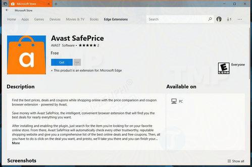 Avast phát hành tiện ích mở rộng cho trình duyệt Edge