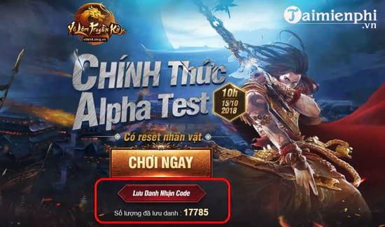 Code Võ Lâm Truyền Kỳ H5 2