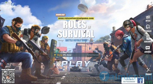 cach nap the game rules of survival pc