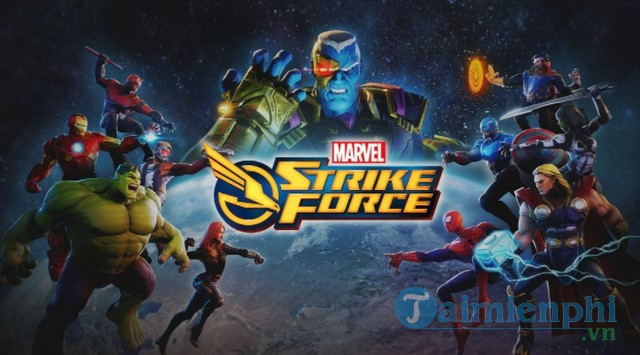marvel strike force game de tai marvel nhap vai loi cuon don guc fan bang ban mobile moi ra