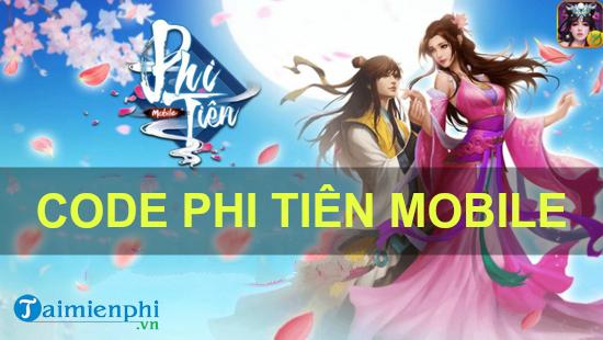 code phi tien mobile