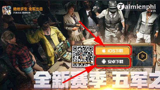 Cách tải và chơi PUBG Mobile trên server Trung Quốc 2