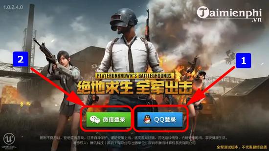 Cách tải và chơi PUBG Mobile trên server Trung Quốc 5