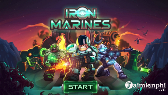 cach choi iron marines tren may tinh