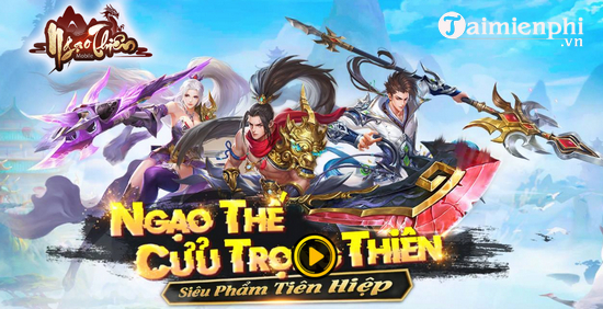 cach choi ngao thien mobile tren may tinh