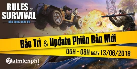 rules of survival ban cap nhat 13 6