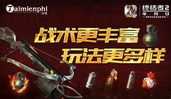ban cap nhat rules of survival 1 8 them phu kien no ten luu dan