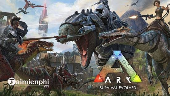 cau hinh choi game ark survival evolved