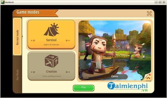 Hướng dẫn tải và chơi Mini World Block Art 8