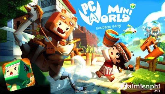 Hướng dẫn tải và chơi Mini World Block Art 0