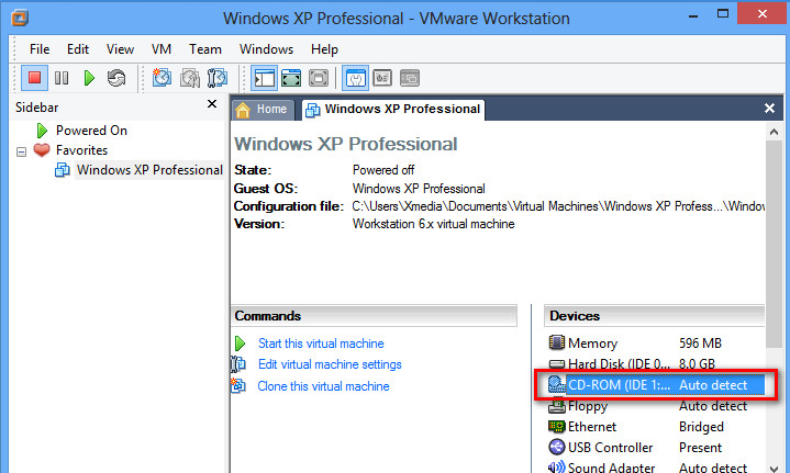 vmware machine for windows 7 32 bit