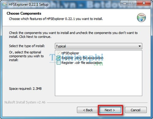 Open file *  dmg with software?