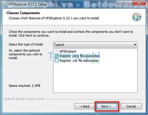 open dmg files winrar