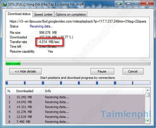Download Ninja lựa chọn tải file nhanh thay thế Internet Download Manager