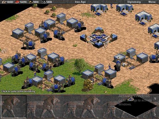 DeathMatch Đế chế AOE đánh quân gì tốt nhất?