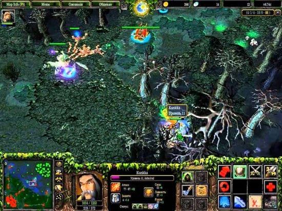 Những map Warcraft nhiều người chơi hiện nay 2