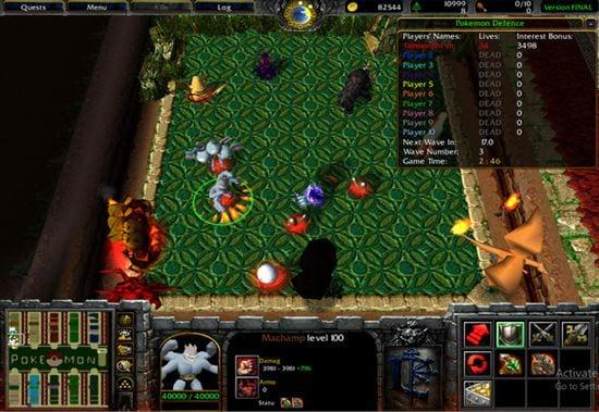 Những map Warcraft nhiều người chơi hiện nay 3