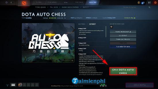 Hướng dẫn cài và chơi Dota Auto Chess