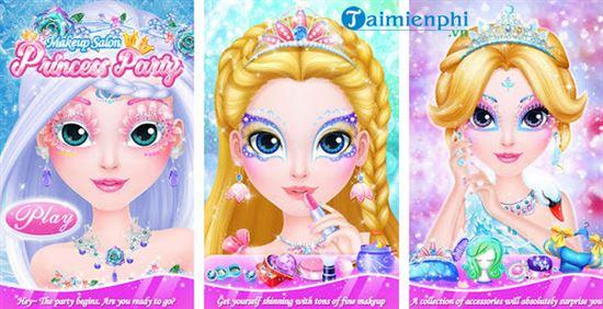 Top game công chúa cho bé gái