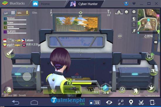 Chơi Cyber Hunter trên máy tính như thế nào?