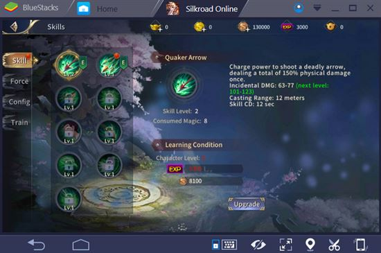 Cách chơi Silkroad Online Mobile trên PC