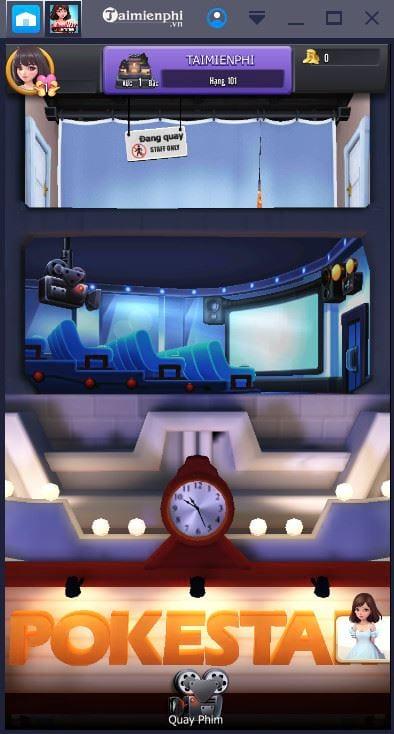 Chơi game 360mobi Cinema trên máy tính như thế nào?