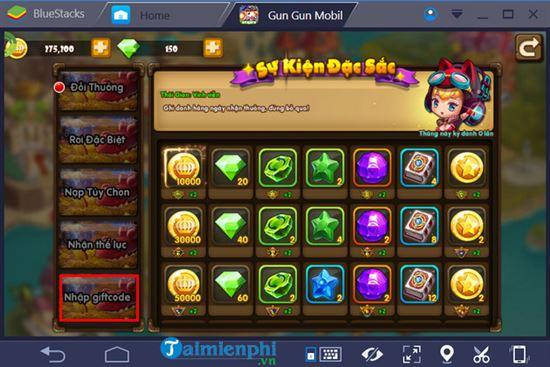 Tổng hợp Mã GiftCode chung dành cho tất cả mọi sever của game Gun Gun Mobile Nhan-code-gun-gun-mobile-5