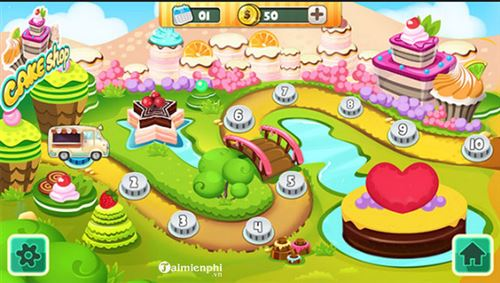 Top game làm bánh hấp dẫn nhất