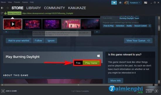 Hướng dẫn tải game Burning Daylight miễn phí
