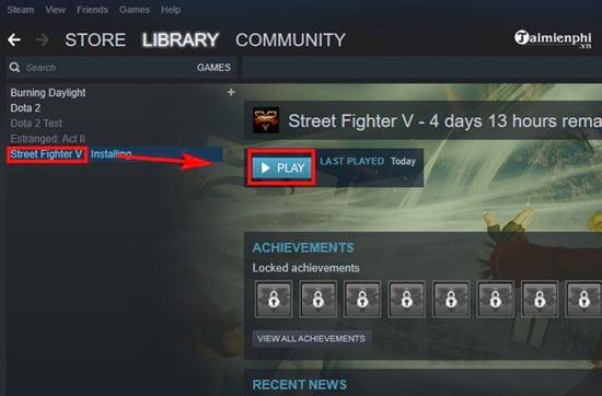 huong dan tai va cai dat mien phi game doi khang street fighter v tren steam 6