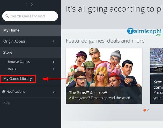Hướng dẫn tải và cài đặt miễn phí game The Sims 4 5
