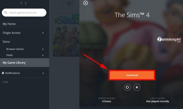 Hướng dẫn tải và cài đặt miễn phí game The Sims 4 7