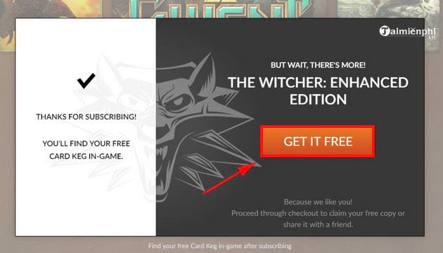 cach tai va cai dat mien phi game the witcher enhanced edition 4