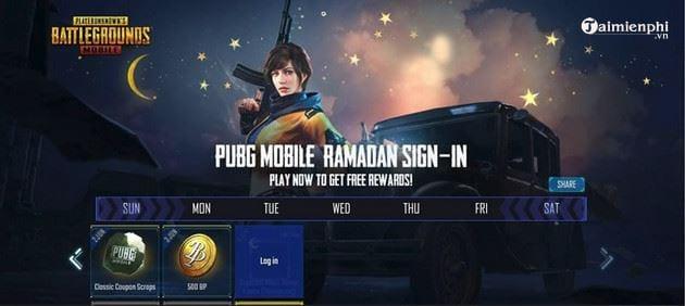 cach nhan khung avatar trang luoi liem mien phi pubg mobile 3