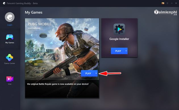 Cách cài CH Play trên Tencent Gaming Buddy