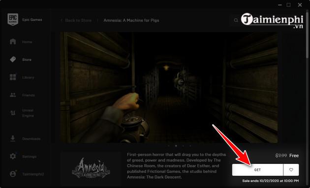 cach choi mien phi game amnesia a machine for pigs 3